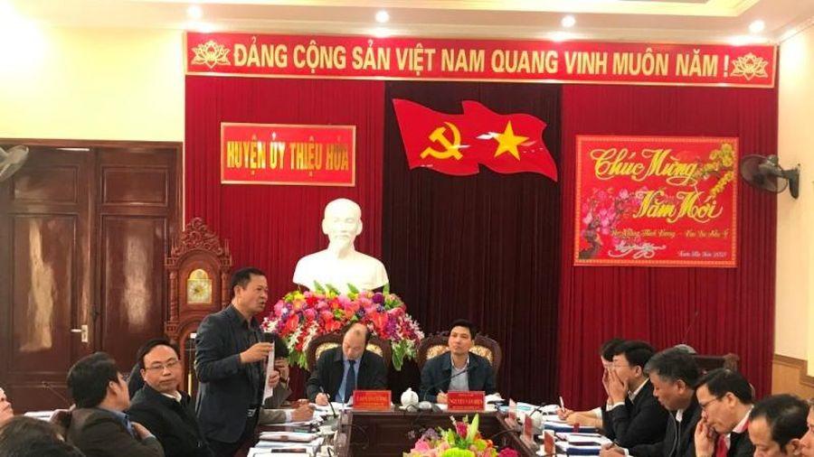 Năm 2021, huyện Thiệu Hóa phấn đấu đạt chuẩn nông thôn mới