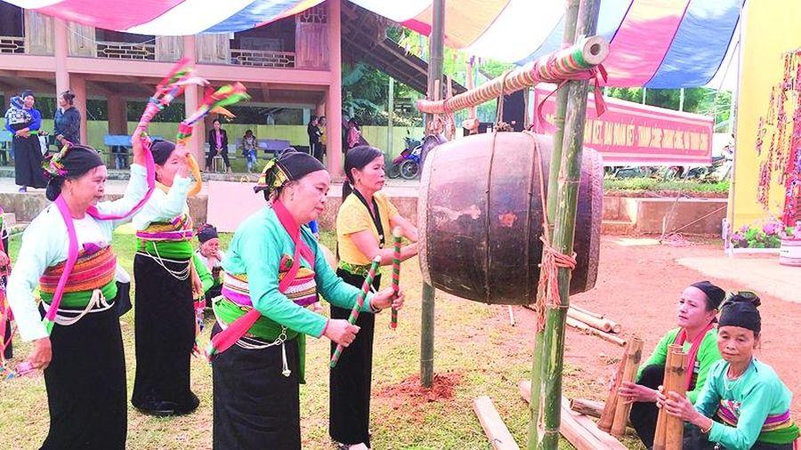 Xã Tân Phúc bảo tồn và phát huy giá trị văn hóa dân tộc Thái, Mường