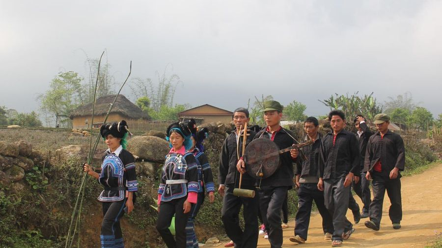 Lào Cai: Độc đáo đàn Hó Tơ của người Hà Nhì