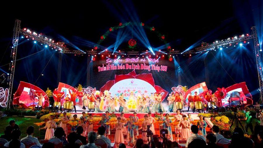 Khai mạc 'Tuần lễ Văn hóa du lịch Đồng Tháp năm 2021'