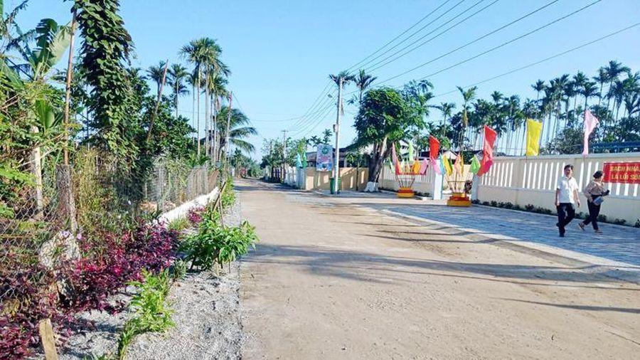 Tư Nghĩa: Xây dựng khu dân cư nông thôn mới kiểu mẫu