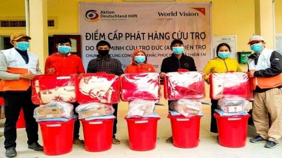 World Vision Việt Nam phát đồ dùng thiết yếu cho gần 20000 hộ gia đình ở Quảng Ngãi
