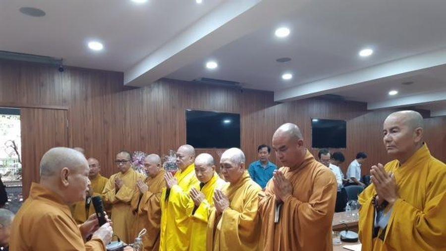 Lãnh đạo Phật giáo và chính quyền Đồng Tháp chúc Tết Trung ương Giáo hội