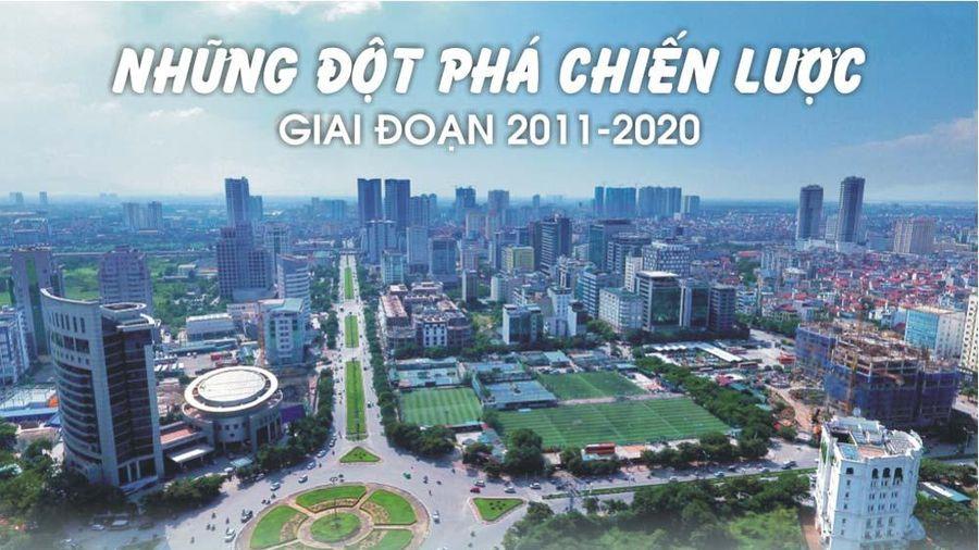 Infographics: Đột phá chiến lược của Việt Nam giai đoạn 2011-2020