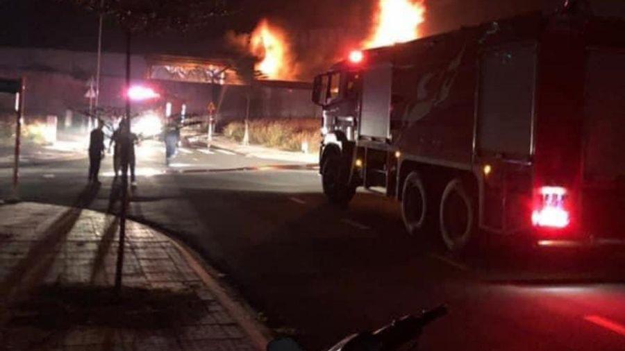 Thống kê thiệt hại, xác định nguyên nhân vụ cháy tại công ty gỗ ở Bình Dương