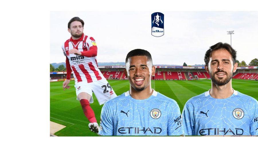 Dự đoán kết quả, đội hình xuất phát trận Cheltenham - Man City