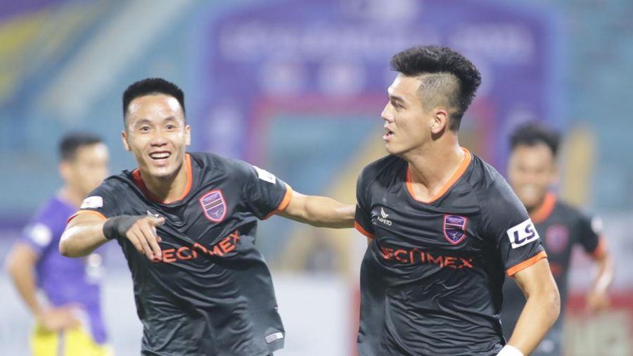 Toàn cảnh Hà Nội FC 1-2 Bình Dương: Màn lội ngược dòng 'khó tin'