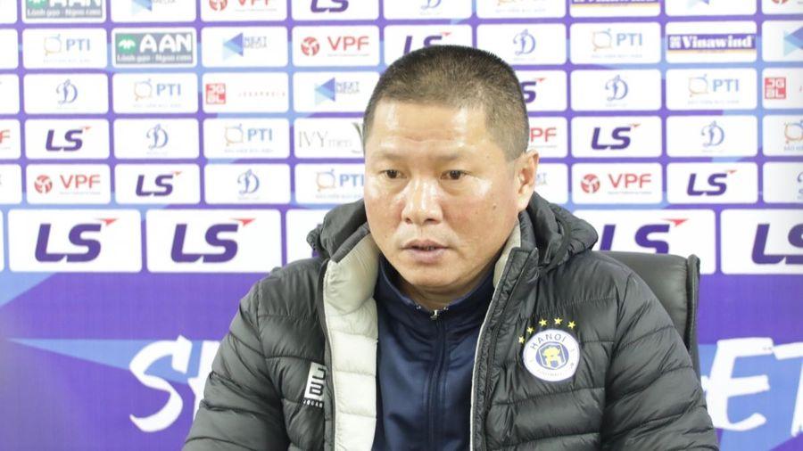 Thua Bình Dương, HLV Chu Đình Nghiêm thừa nhận Hà Nội FC bị đối thủ bắt bài