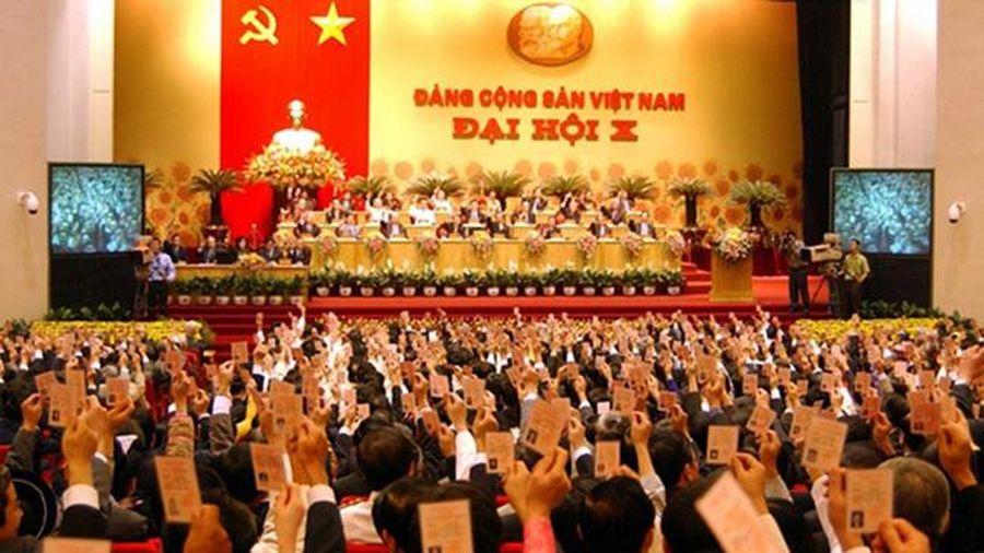 Đại hội đại biểu toàn quốc lần thứ X: Đẩy mạnh toàn diện công cuộc đổi mới đất nước