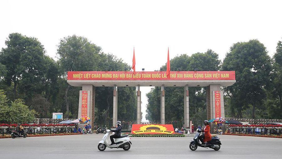 Thời tiết Hà Nội dịp Đại hội XIII của Đảng ra sao?