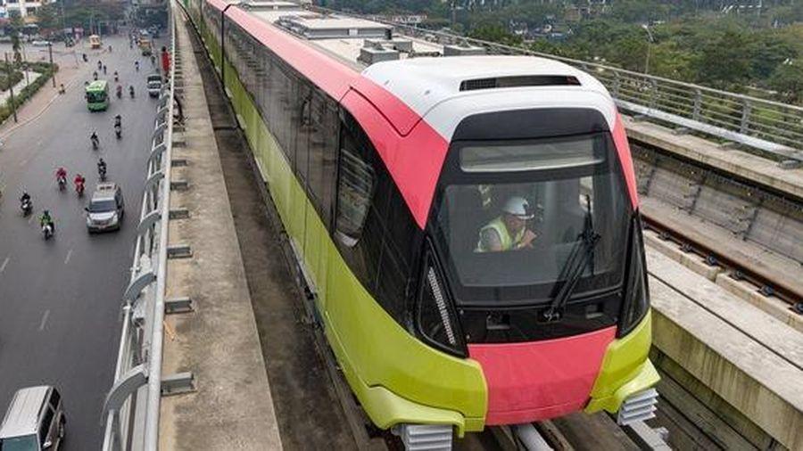 Đường sắt đô thị: Tàu Nhổn – ga Hà Nội mỗi lần chở được 1.124 người