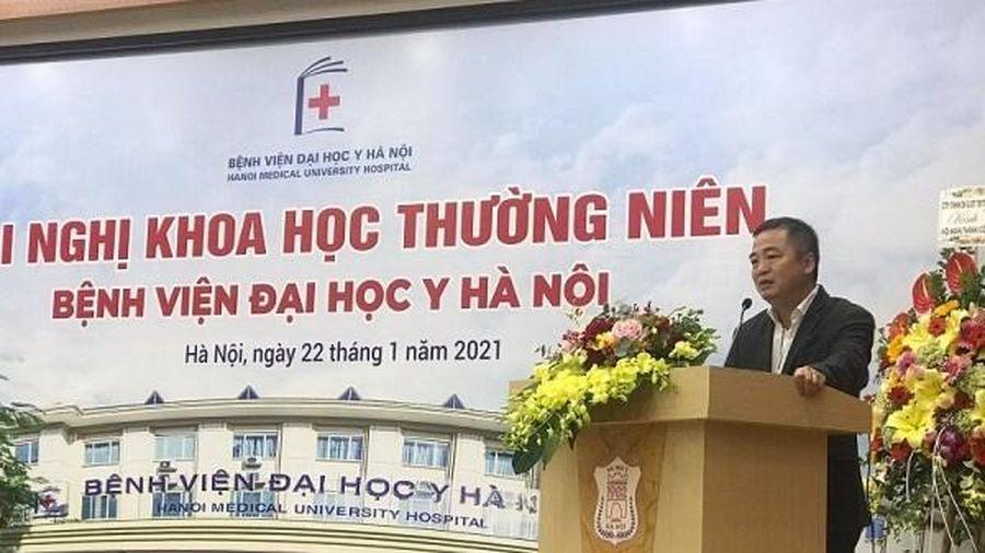 Nhiều nghiên cứu, ứng dụng đột phá tại Hội nghị khoa học BV Đại học Y Hà Nội