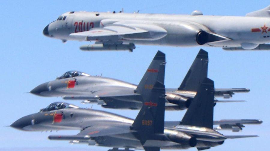 Nhiều máy bay Trung Quốc áp sát vùng nhận diện phòng không Đài Loan