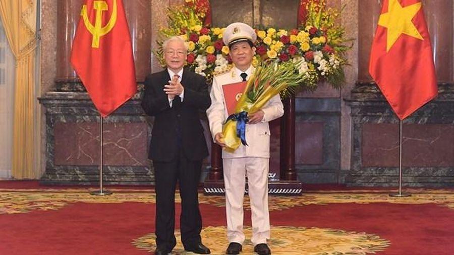 Thứ trưởng Bộ Công an Nguyễn Văn Sơn được thăng cấp hàm Thượng tướng