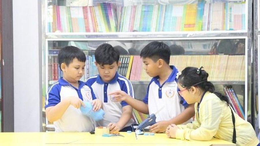 Tiếp lửa đam mê khoa học kỹ thuật cho học sinh