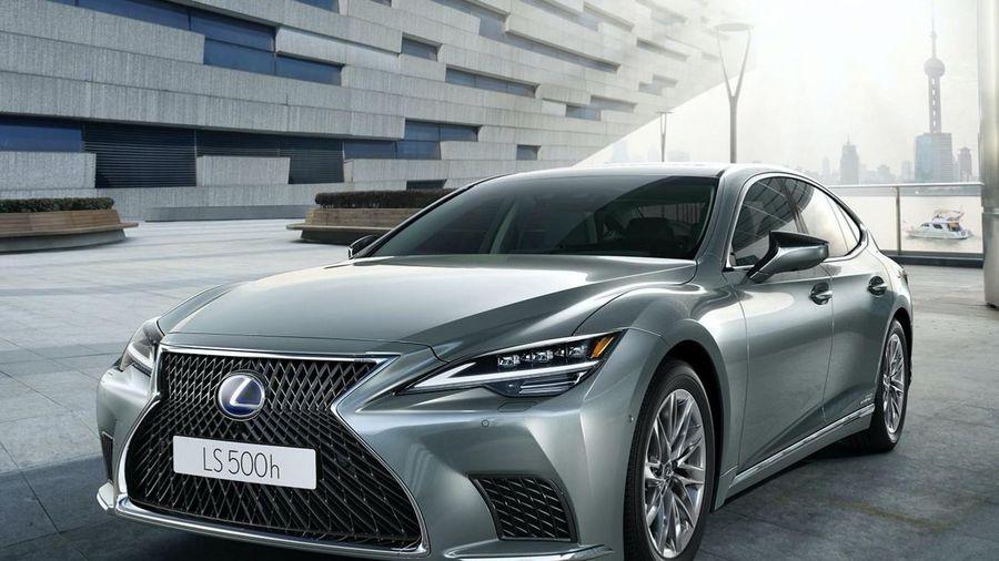 Lexus LS 2021 được ra mắt tại Australia