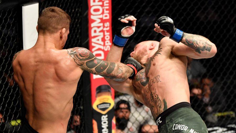 Highlights Poirier thắng knock-out McGregor
