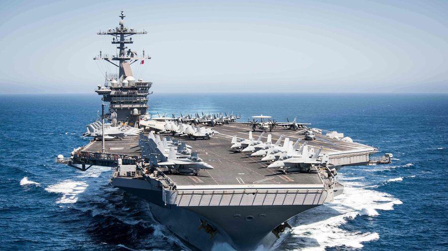 Tàu sân bay Mỹ USS Theodore Roosevelt đi vào Biển Đông