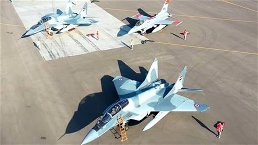 Ai Cập từ bỏ F-16 sau khi huấn luyện với MiG-29M
