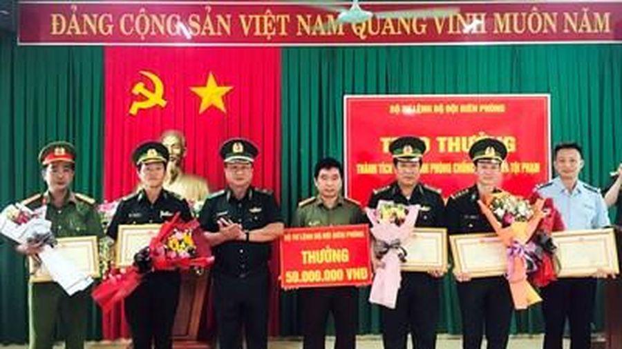 Bộ tư lệnh Bộ đội Biên phòng trao thưởng các lực lượng có thành tích đấu tranh phòng, chống tội phạm