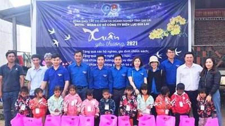 Tuổi trẻ PC Gia Lai tổ chức Chương trình 'Xuân yêu thương năm 2021'