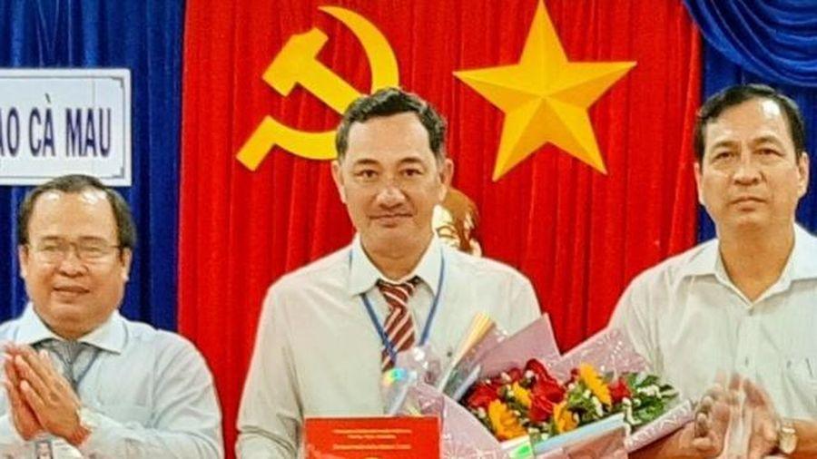 Cà Mau có tân Phó Giám đốc Sở GD&ĐT