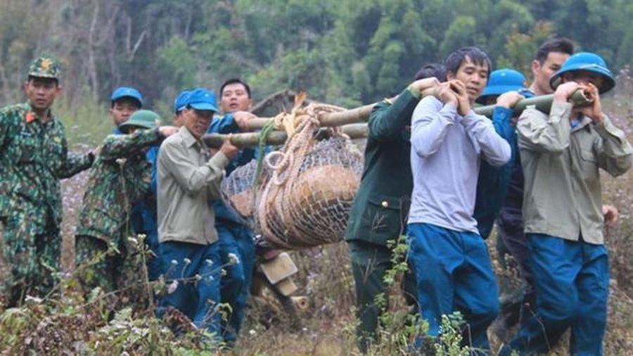 Sơn La: Hủy nổ quả bom nặng 600kg