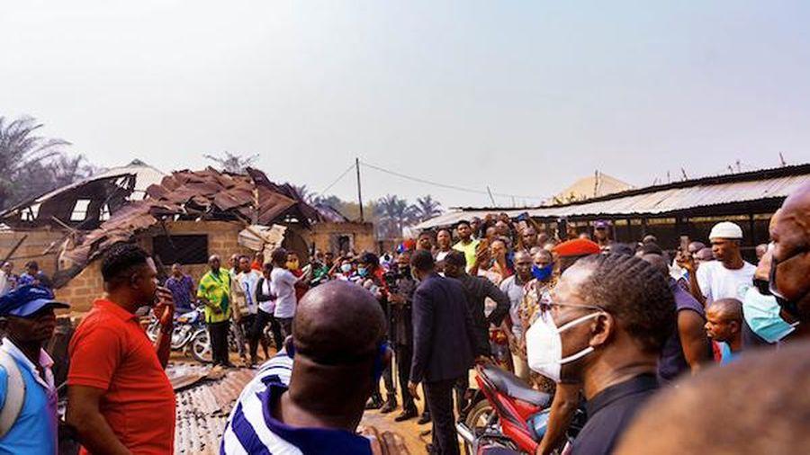 Nigeria: Nổ xe bồn chở gas, 4 người thiệt mạng