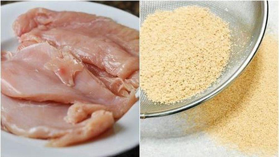 Tự làm hạt nêm từ thịt ức gà, biến mọi món ăn trở nên thơm ngon, đảm bảo sức khỏe