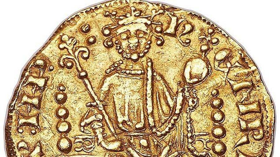 Đồng xu vàng gần 800 tuổi có giá gần 17 tỷ đồng