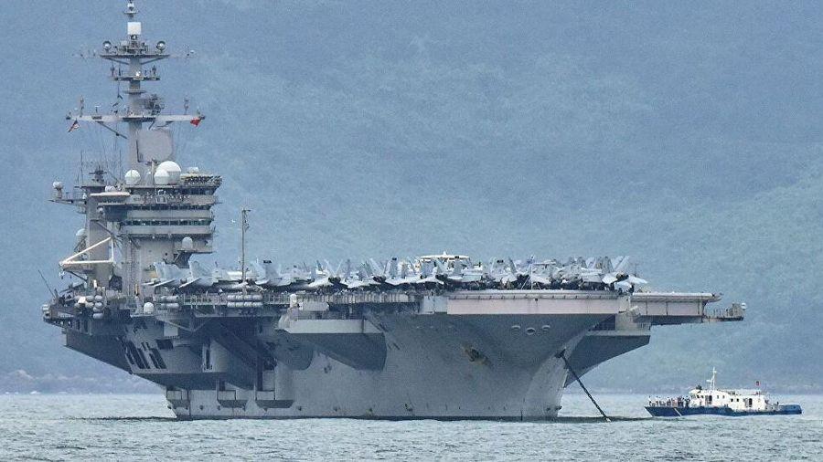 Tàu sân bay Mỹ vào Biển Đông ngay sau khi ông Biden nhậm chức
