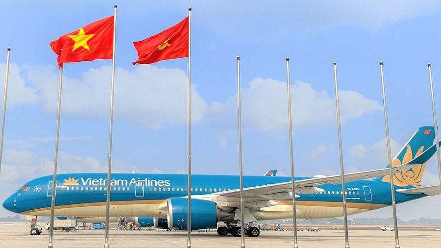 Ngày bay cao điểm phục vụ đại biểu dự Đại hội XIII của Đảng