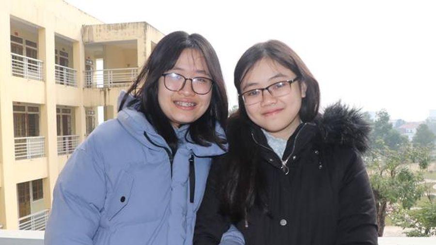 Đôi bạn thân cùng đoạt giải cao môn tiếng Anh trong Kỳ thi Học sinh giỏi quốc gia