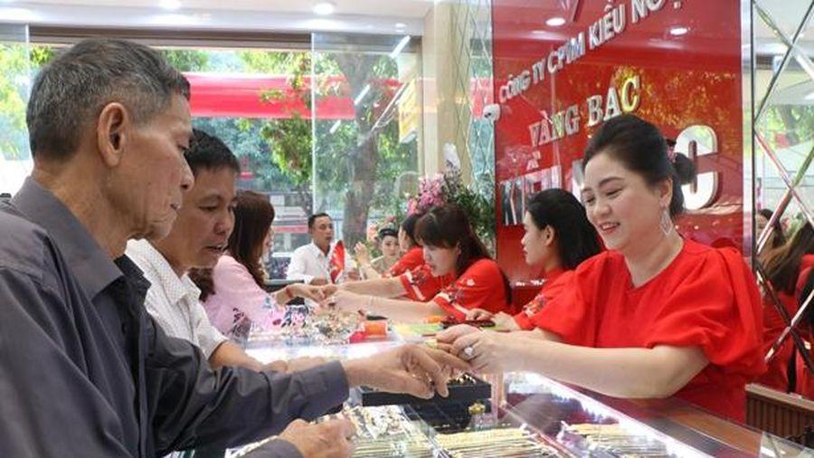 Vàng bạc Kiều Ngọc khai trương cơ sở 2 ở TP Hà Tĩnh