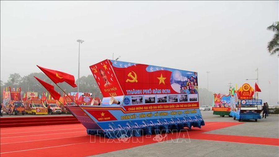 Thanh Hóa: Liên hoan Tuyên truyền cổ động 'Vinh quang Đảng Cộng sản Việt Nam'