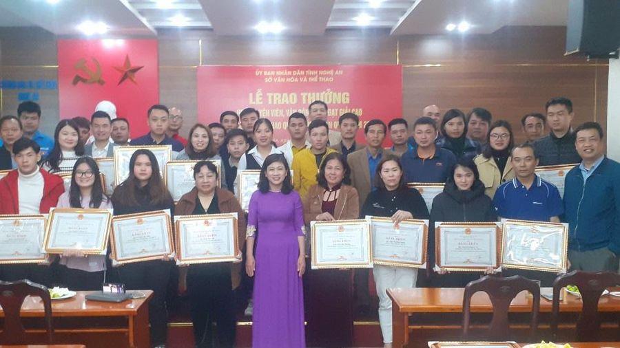 Nghệ An: 'Bội thu' thể thao quần chúng toàn quốc