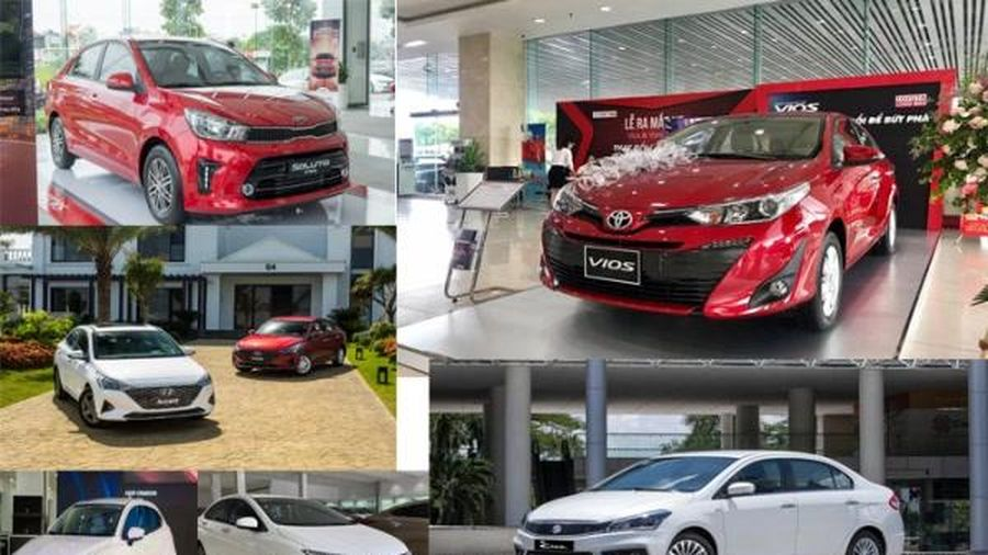 Xếp hạng xe hạng B năm 2020: Toyota Vios 'dìm' Suzuki Ciaz