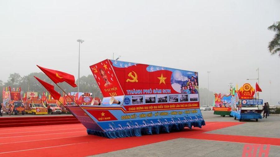 Liên hoan tuyên truyền, cổ động tỉnh Thanh Hóa 2021 với chủ đề 'Vinh quang Đảng Cộng sản Việt Nam'