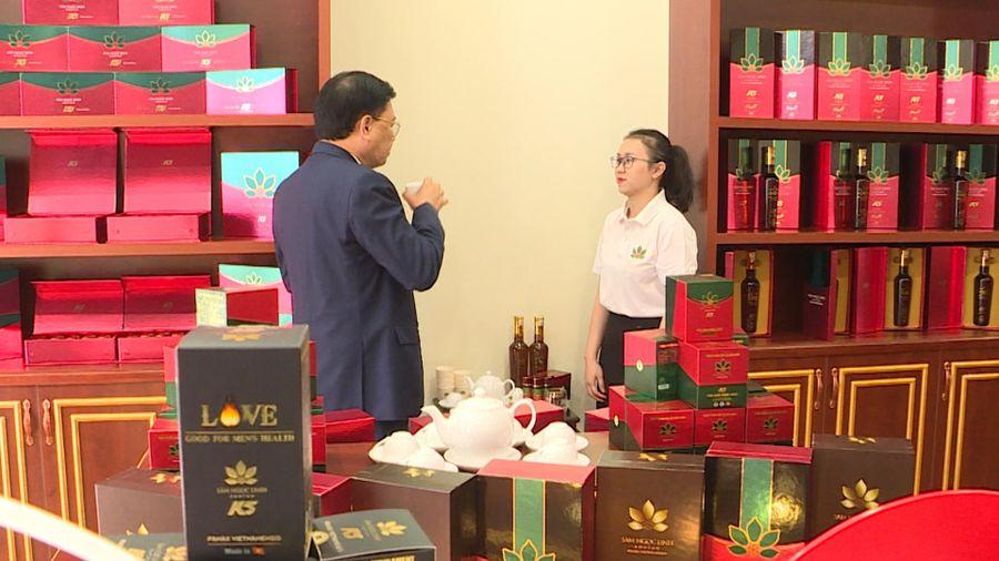 Khai trương đại lý Sâm Ngọc Linh Kon Tum K5 và Trầm Tuệ tại TP Hạ Long