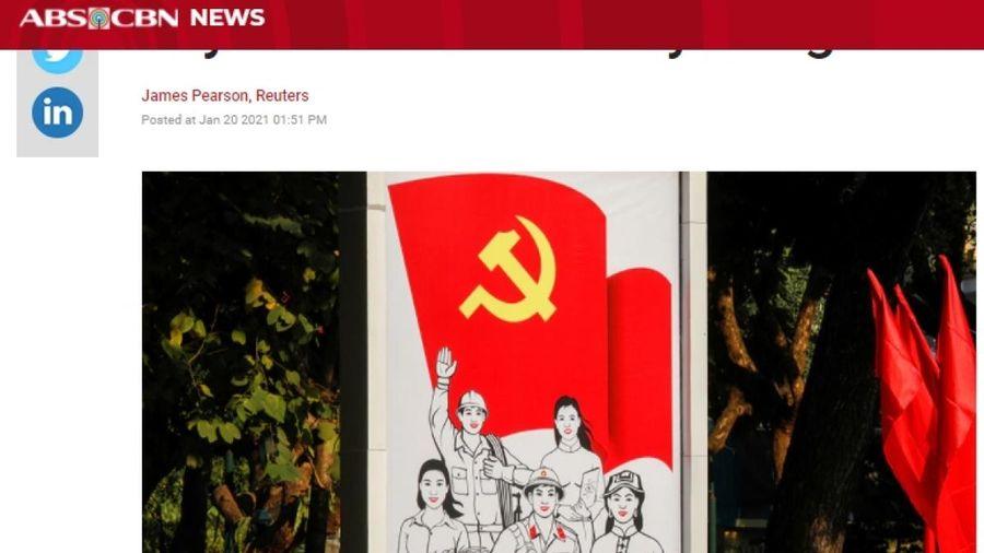 Báo chí quốc tế 'giải mã' niềm tin của người dân Việt Nam với Đảng