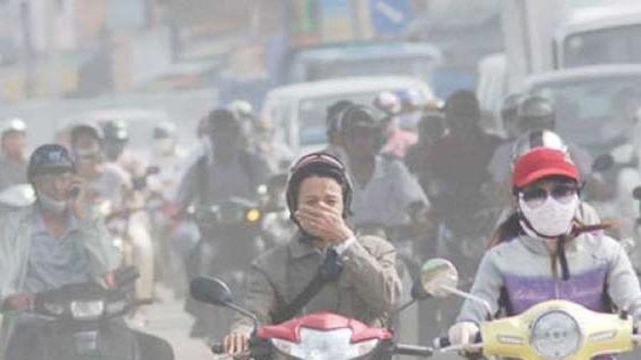 Hôm nay, Hà Nội lại đứng đầu thế giới ô nhiễm không khí