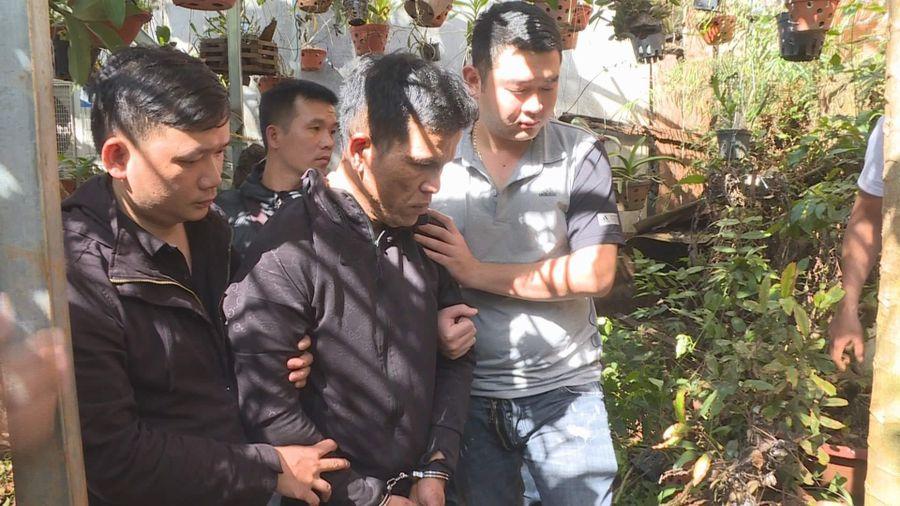Kẻ đào hầm giấu súng và ma túy bị khởi tố 4 tội danh