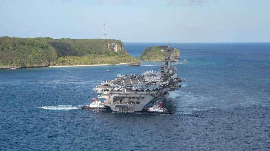 Đội tàu sân Mỹ đầu tiên vào Biển Đông trong nhiệm kỳ Tổng thống Biden