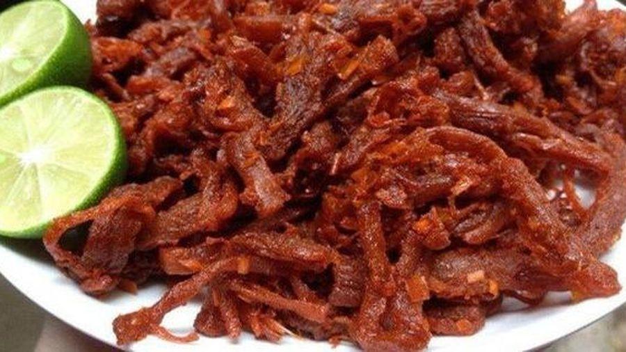 Cận Tết, cẩn trọng thịt lợn sề, lợn bệnh, phổi bò đội lốt thịt bò khô làm 'đau' ví, hại thân!