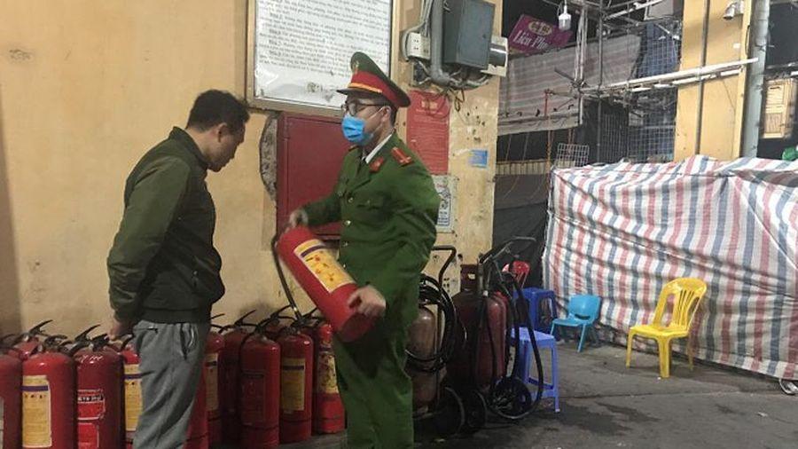 Tuyên truyền, hướng dẫn an toàn phòng cháy tại các cơ sở trong dịp Tết Nguyên đán