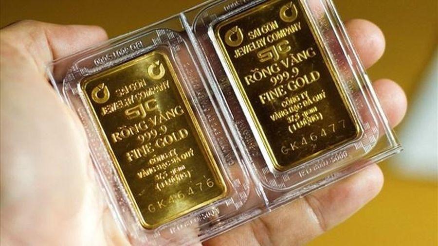 Giá vàng 25/1: Giới đầu tư chờ 'đòn bẩy' Tổng thống Mỹ Biden