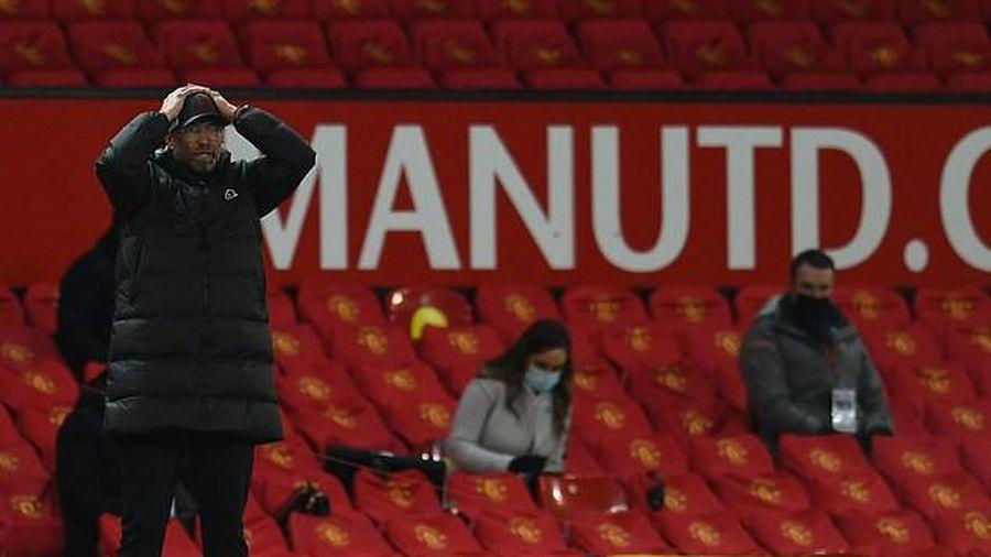 Thua MU, Klopp nói đừng lo lắng cho Liverpool
