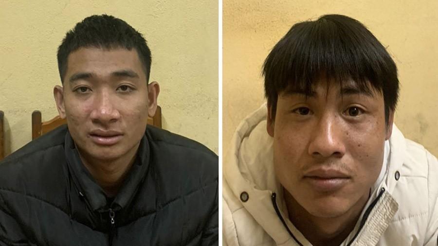 2 thanh niên ép xe, cướp giật điện thoại bị bắt giữ