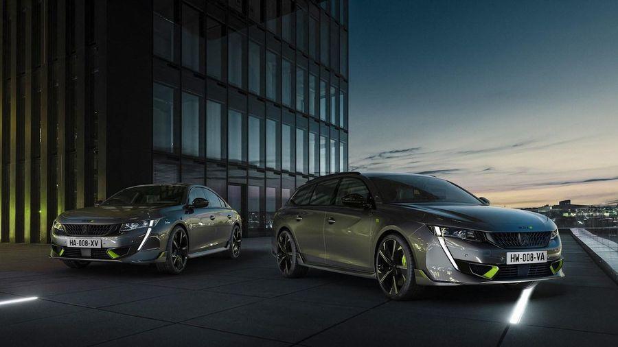 508 PSE PHEV - mẫu xe mạnh nhất của Peugeot được ra mắt tại Đức