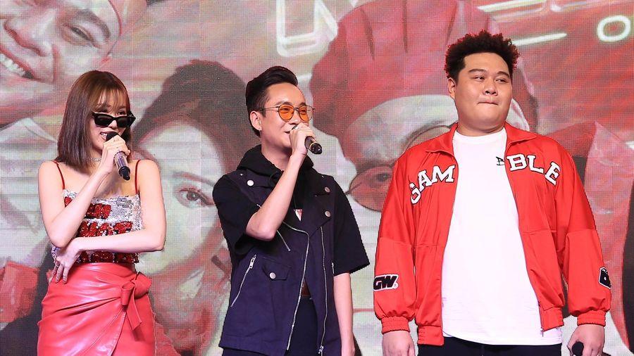Min, JustaTee, Yuno BigBoi lần đầu hát live 'Mlem mlem'